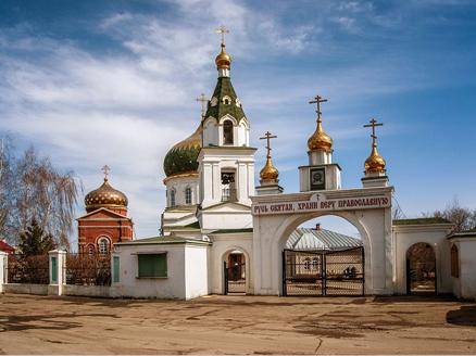 В церкви преподобного Андрея Рублева начались отделочные работы