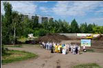 К осени — фундамент будущего храма. Фото 3