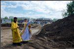 К осени — фундамент будущего храма. Фото 13