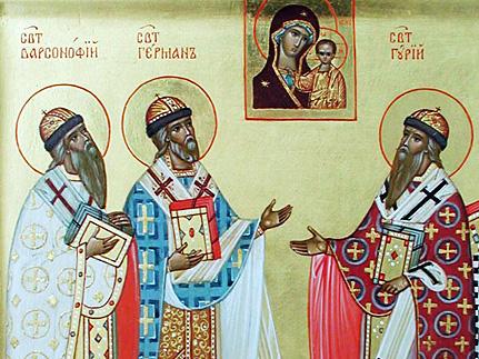 Положившие начало устроению епархии в Казанской земле