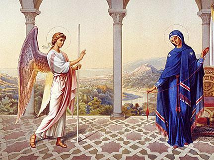 Почему именно архангел Гавриил пришел к Богородице