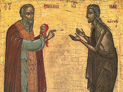 Преподобная Мария Египетская (ок. 521) [+аудио]