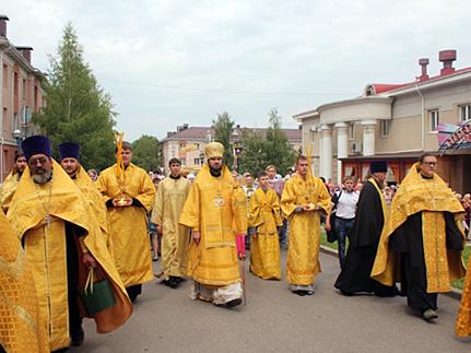 Мероприятия ко Дню Крещения Руси в Альметьевске