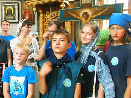 Стартовала вторая смена летних сборов Клуба «Спас»
