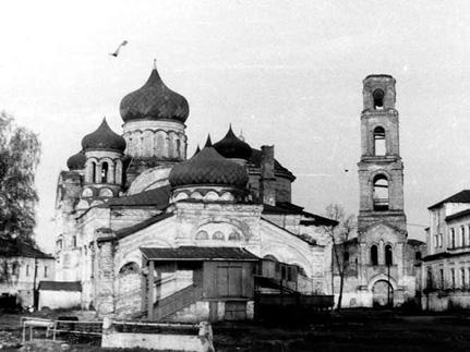 Архивные фото Раифского монастыря