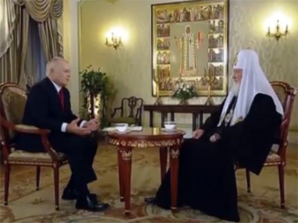 Рождественское интервью Патриарха Кирилла [+видео]